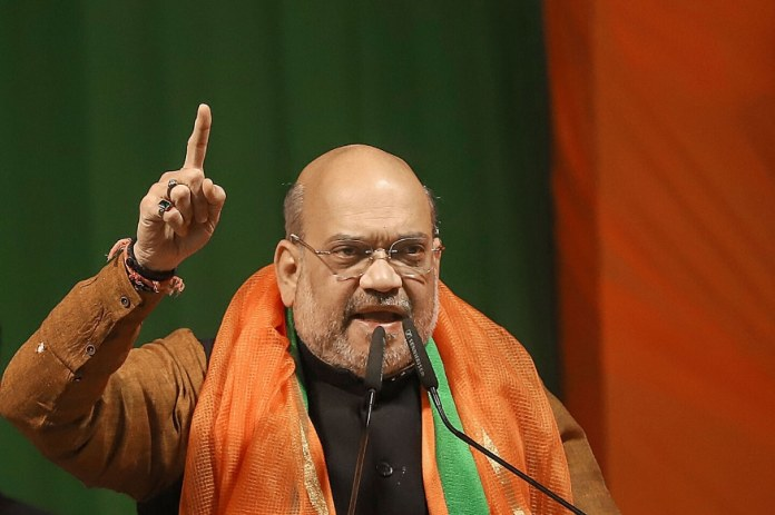 A file photo of Home Minister Amit Shah.