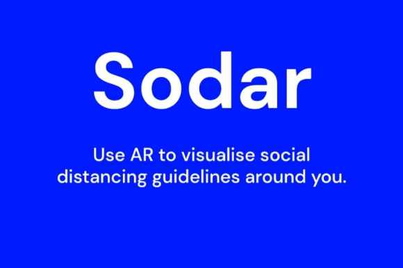 Screenshot of the new Sodar App by Google.