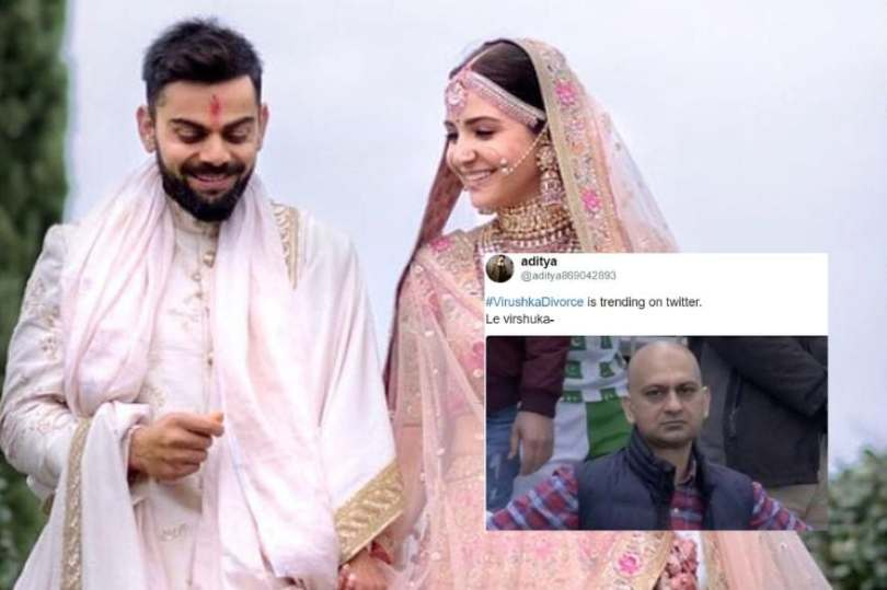 VirushkaDivorce Trend on Twitter Proves Internet's Obsession with ...