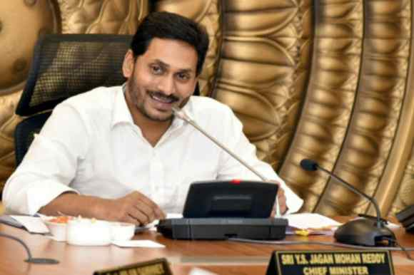 A file photo of CM Jagan Mohan Reddy. (Image Source: PTI)