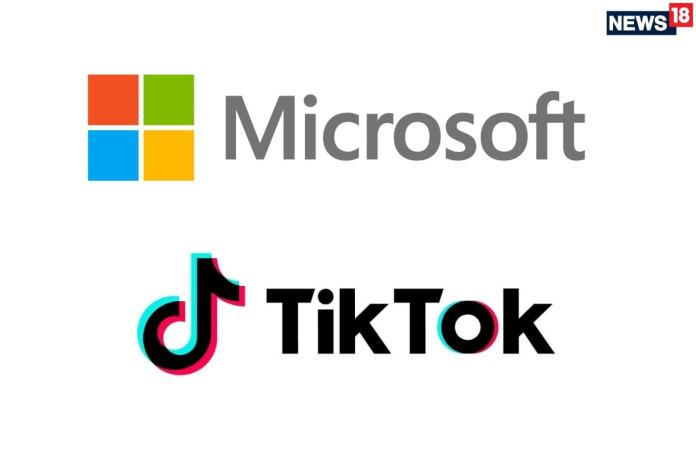 Trump says he will ban TikTok starting today. Microsoft is considering buying it