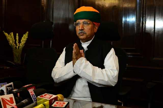 File photo of Union Minister Arjun Ram Meghwal. (Credit: Twitter)