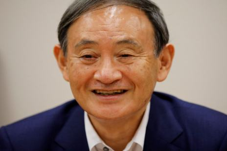 <div>Yoshihide Suga Elected Leader of Japan's Ruling Party, Likely to Become PM</div>