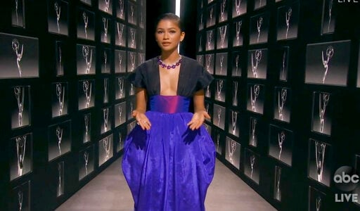 Zendaya Becomes Youngest Lead Drama Actress To Win Emmy