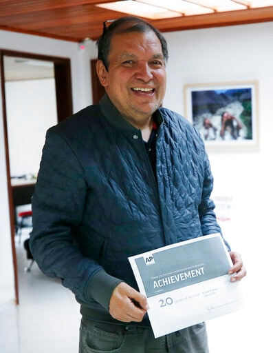 César Garcia, AP Colombia Reporter, Dies After Illness At 61
