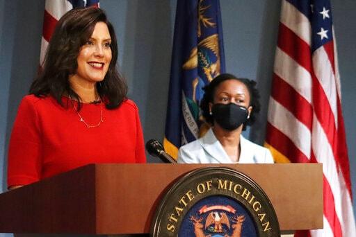 Whitmer: No Enforcement Of Virus Rules At Trump Rallies