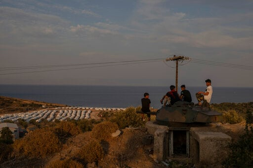 AP PHOTOS: Moria, The Migrant Crisis That Shook The EU