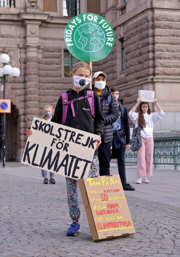 Greta Thunberg And Youth Climate Protests Make A Return