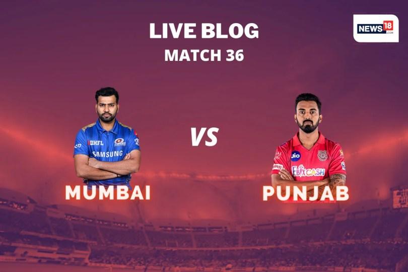 IPL 2020 Live Score, MI vs KXIP, Today's Match in Dubai: de Kock, Krunal Rebuild After Three Early Wickets
