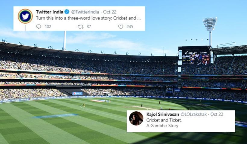 Desis are Hitting Out of the Park for Twitter's 'Three-word' Love Story with 'Cricket'