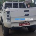 Ford Ranger 4x4 Pick Up Truck Spotted Testing In India Likely To Debut In India Soon