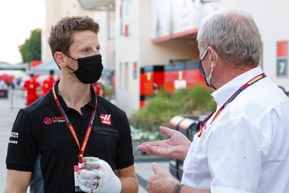 Romain Grosjean Says Mercedes Boss Toto Wolff Can Expect a Call