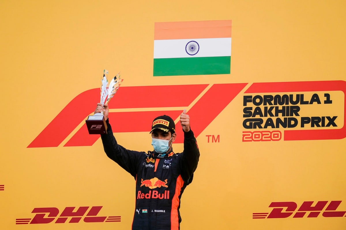 Jehan Daruvala Gets One-year Extension with Red Bull Racing, Will Race in F2