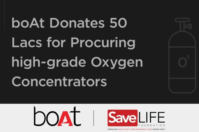 boAt Announces Rs 50 Lakh Donation to Help Procure Oxygen Concentrators to Fight COVID-19 Crisis | Latest News Live | Find the all top headlines, breaking news for free online April 28, 2021