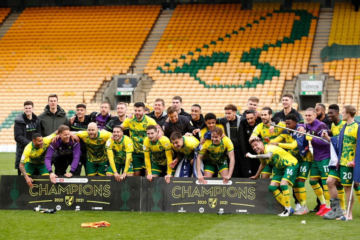 Norwich City Secure Championship Title with 4-1 Win over Reading