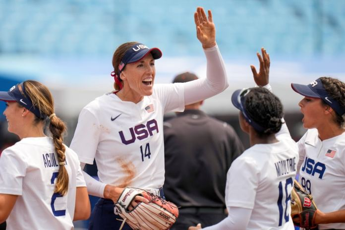 Tokyo Olympics: Usa Beat Canada In Softball As Monica Abbott Strikes Out 9