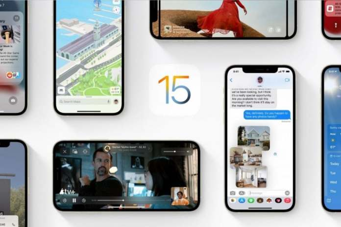 Apple iOS 15 will was unveiled at WWDC 2021.