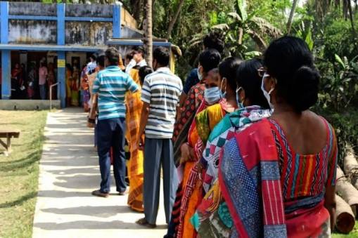Election 2021: 'High Voltage' Second Phase: 60.43 per cent votes cast in 30 constituencies, 80.89 per cent in Nandigram