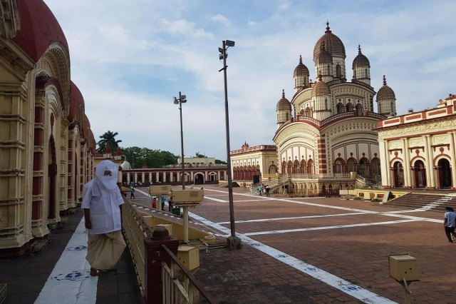 * The temple committee has also announced the decision to close the Dakshineswar temple. Kushal Chowdhury, the trustee of Maa Bhavatarini's temple in Dakshineswar, said that visitors will not be allowed to enter the temple for the time being.  File image.
