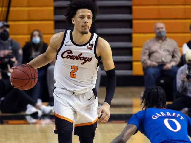 Cade Cunningham Takes Home Award For Top Freshman In College Basketball