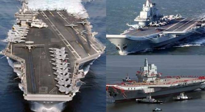 China can deploy two warships to retaliate against the US, boasts ...