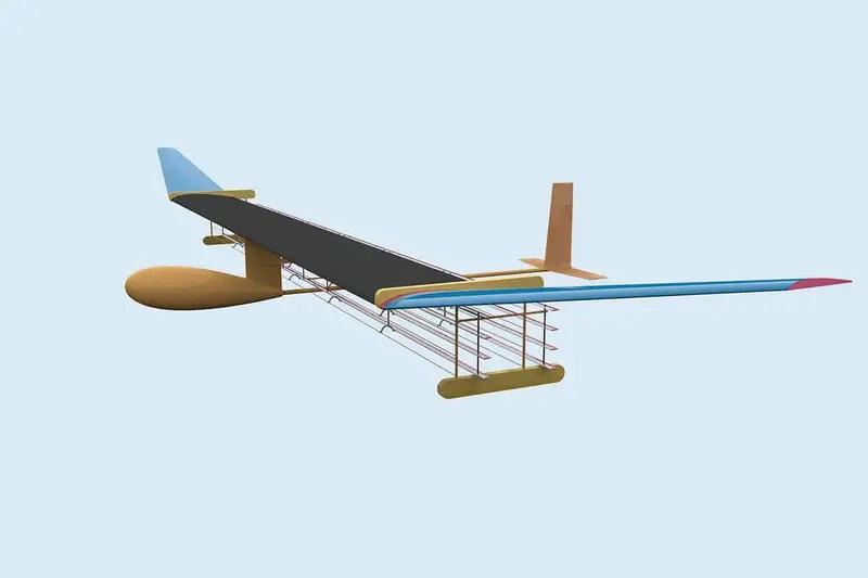 diagram of plane