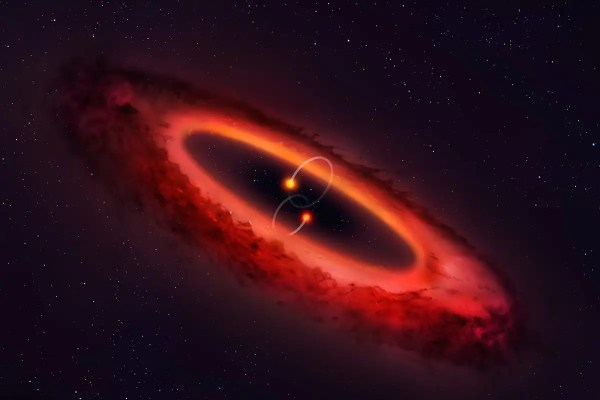 Weird star system has double binary stars and wonky ...