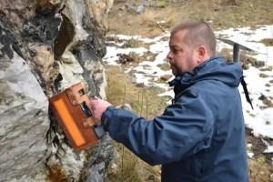 Jonsson hunting for gadolinite