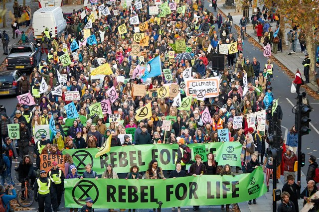 Green protest