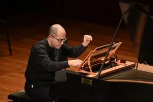 Harpsichordist Mahan Esfahani