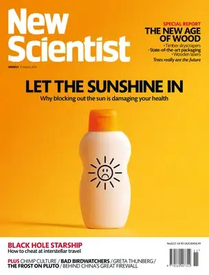 New Scientist issue 3221 cover