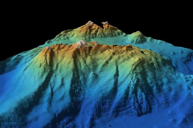 A sea mountain