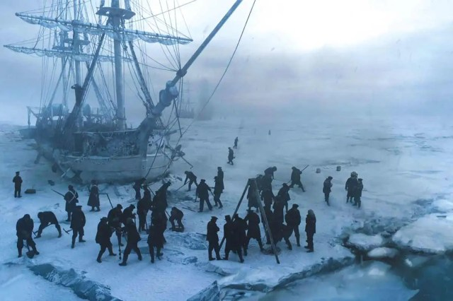 crew on the Franklin expedition