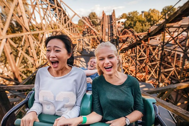 Here's the secret to the ultimate thrill ride according to science