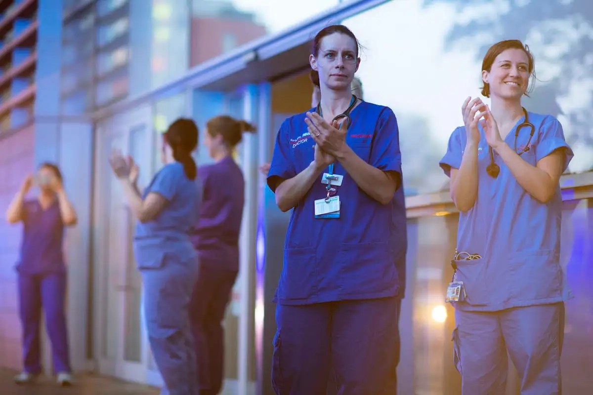 Covid-19 news: One in ten cases in England have been in health workers