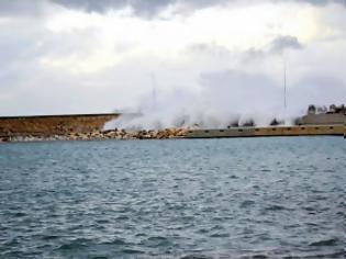 Φωτογραφία για Συνομιλία Κόλλια - Τατούλη για το λιμάνι της Κυπαρισσίας