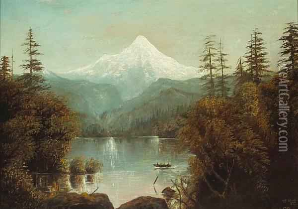 Mt Hood Oregon Oil Painting Reproduction By Grafton