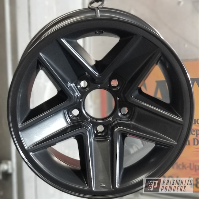 Powder Coated Chrome Rockstar Rims