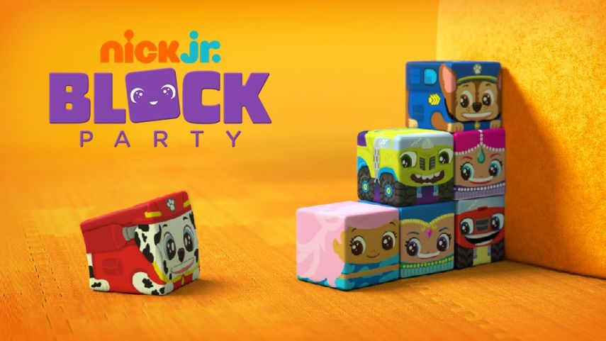 Block Party  Play Ball  Nick Jr  Original Video