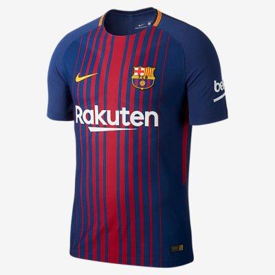 FC Barcelona 2017-2018 kit