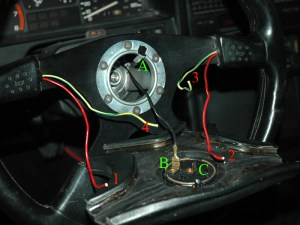 Need help wiring the horn on Momo steering wheel  Honda