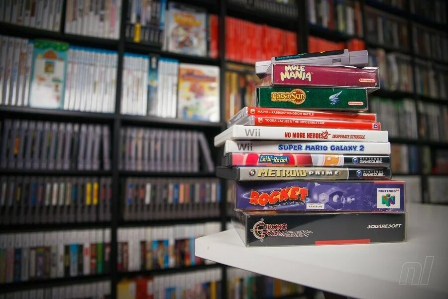 Video Game Stack