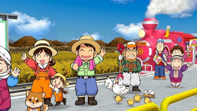Momotaro Dentetsu, the game that's currently taking Japan by storm.