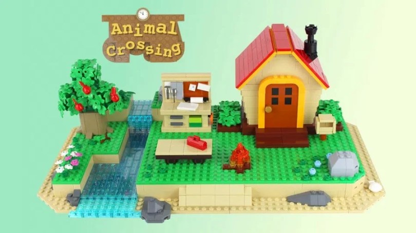 Presumably a portion of the profits on this Animal Crossing: New Horizons house set will go to Tom Nook