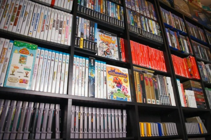 Video Game Wall