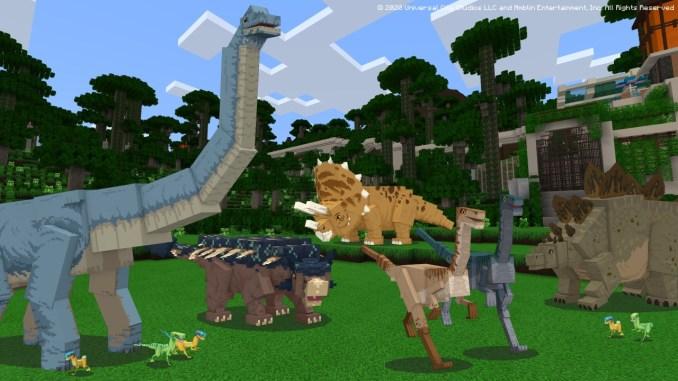 Die neuen Dino's aus dem DLC
