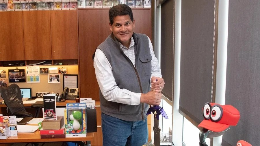 The outpouring of affection when Reggie Fils-Aimé retired