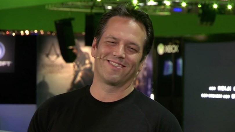 Executive Vice-President of Gaming at Microsoft, Phil Spencer.