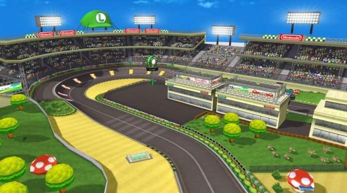 Luigi Circuit from Mario Kart Wii