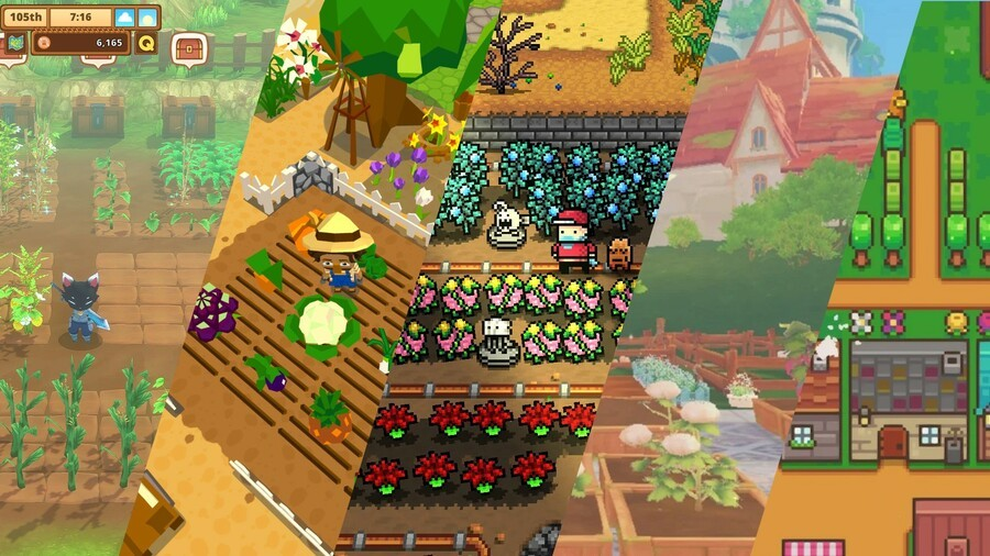 "This is my new game, ""FrankenFarm"""